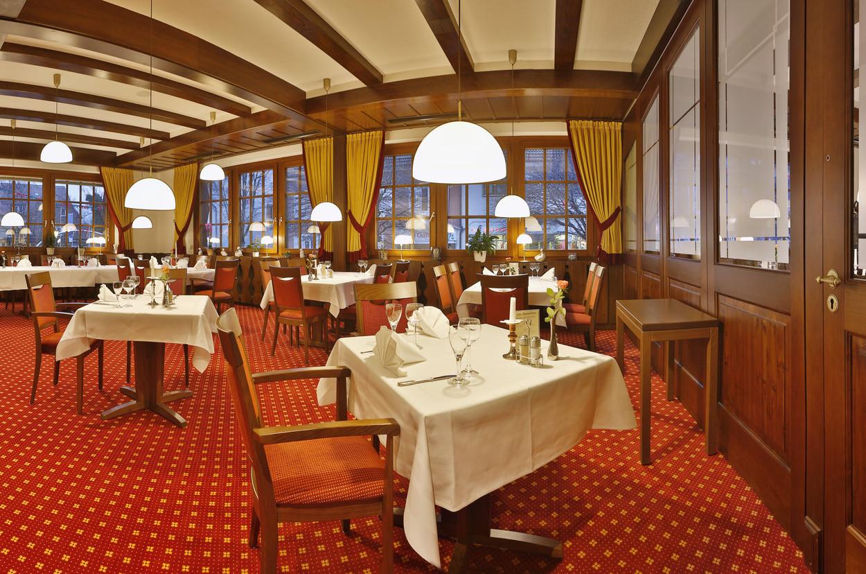 Restaurant Im Hotel Restaurant Fortuna Kirchzarten Bei Freiburg